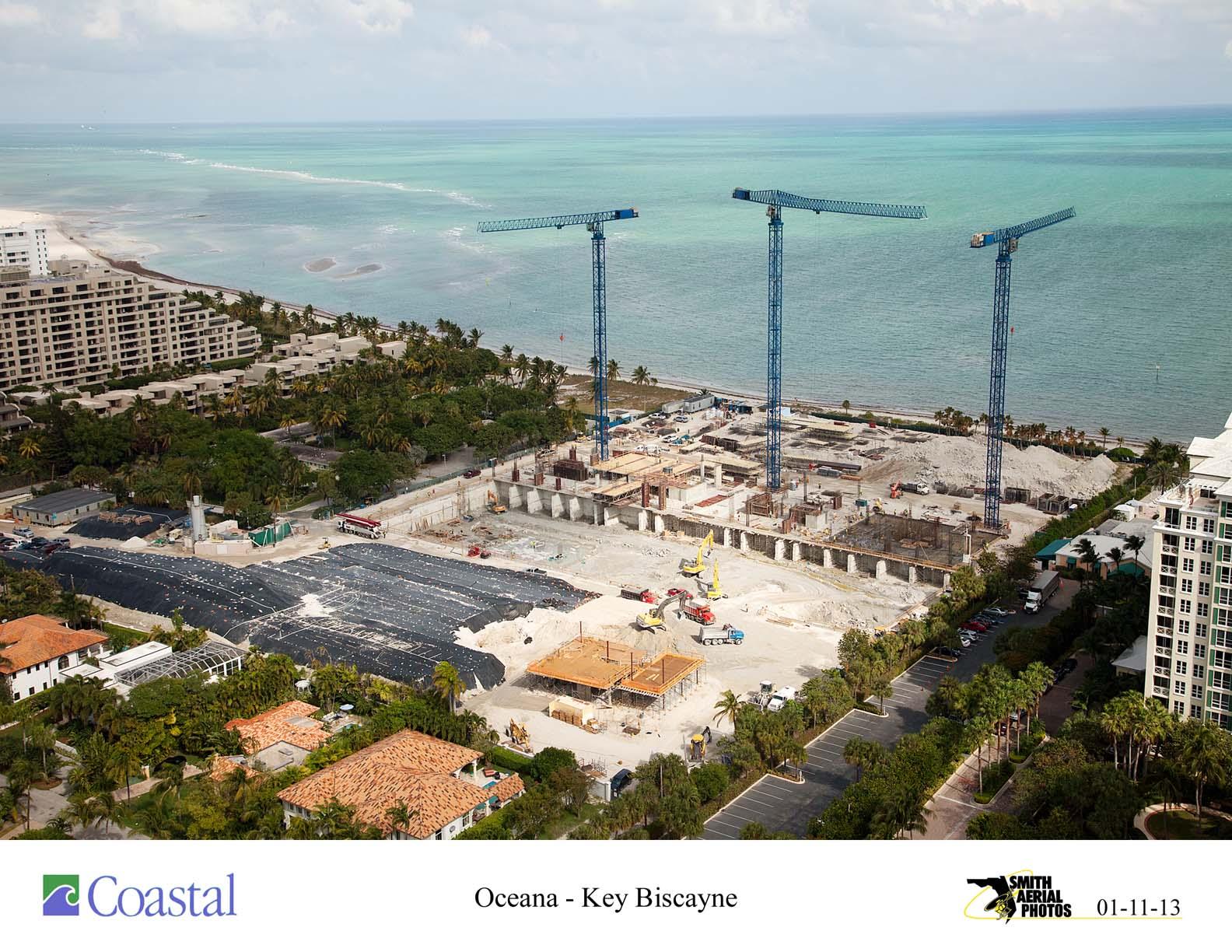Construction 1 11 13 Oceana Key Biscayne